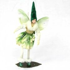 Fairy Figurine Sylvan: Ethically made, Posable Fairy with Stand. Tassie Design