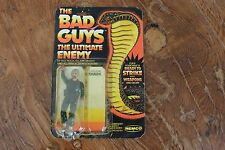 1982 REMCO THE BAD GUYS CODE NAME SHARK (MOC,MISP) SGT. ROCK GI JOE.
