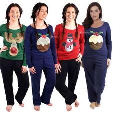 Cotton Blend Women's Christmas Pyjama Sets