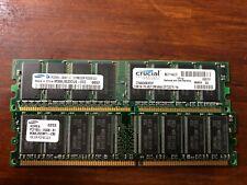 2 Sticks of DDR2, Kingston, Mushkin, unknown, 256 MB, 512 MB