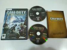Call of Duty la Gran Ofensiva Expansion Pack Juego para PC CD-Rom Edicion España
