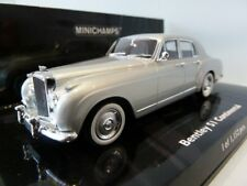Minichamps 436 139552 Bentley S1 Continental 1956 Argent Moulage sous pression