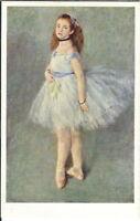 BA-333 The Dancer Renoir Ballet Natl Gallery of Art, 1940's-60's Chrome Postcard