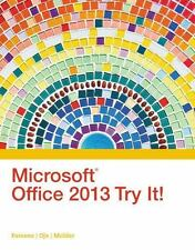 Microsoft Office 2013 Try It! (New Perspectives), Oja, Dan, Parsons, June Jamric