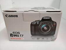 Canon EOS Rebel T7 DSLR Camera w/18-55mm IS II Lens Bundle + Canon EF 75-300m