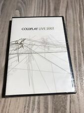 🎬🎬🔥Coldplay - Live 2003 (DVD, 2003, Amaray Includes Audio CD) NEW SEALED🔥🎬