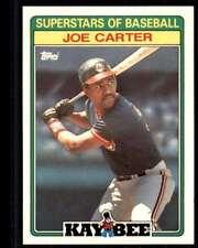 1988 Topps Kaybee Superstars Joe Carter Cleveland Indians #4