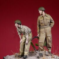 1/35 Resin WWII British Soldiers unpainted unassembled CK100