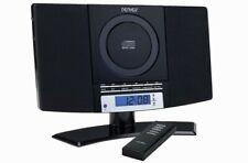 Stereoanlage mit CD, Radio und AUX Denver MC-5220 BLACK Wandmontage geeignet
