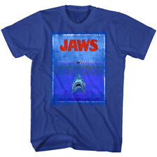 JAWS Movie T-Shirt OCEAN SWIMMER Sizes SM - 5XL New in 100% Royal Cotton