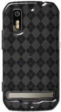 Amzer Luxe Argyle High Gloss TPU Case Motorola Photon 4G MB855