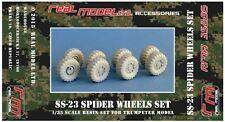 SS-23 Spider wheels set 1 1/35 RMA35286 resin detail set Real Model Hobbyboss