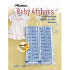 Crochet Baby Afghans 2009 Award Winners Pattern Book Herrschners Christening New