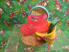 """1999 Just the Right Style """"Beach Time Boxed Figurine Trinket Box, Jelly Shoe Nib"""