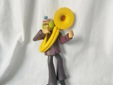 THE BEATLES GENUINE McFARLANE YELLOW SUBMARINE FIGURE GEORGE WITH SOUSAPHONE