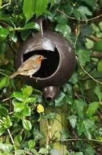 Teiera Nester Robin Casa Degli Uccelli Egg Casella Di Nidificazione Giardino