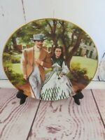 Home to Tara Gone with the Wind 1989 Bradford Exchange Plate COA