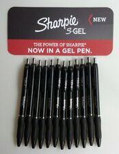 Sharpie S Gel Retractable Gel Pens Medium Pt 07mm Black Ink 12 Count 2096159