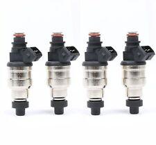 500CC Fuel Injectors for RX-7 EVO  5 6 7 8 9 FC3S 13B 20B 4AGE 4G63T W/ EV1 Clip