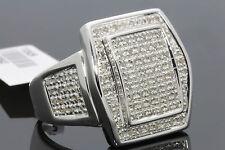 .70 CARAT MENS WHITE GOLD FINISH DIAMOND ENGAGEMENT WEDDING PINKY BAND RING
