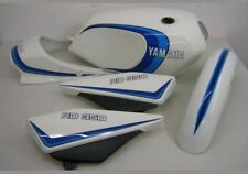 YAMAHA RD250LC RD350LC DECAL KIT 2 STRIPE BLUE VERSION.
