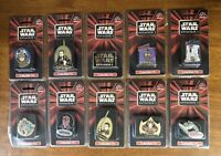 Star Wars Episode 1 Movie Collectible Pin Set of 10 SEALED C3PO Anakin R2-D2