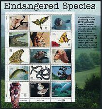 US 3105 32¢ Endangered Species Sheet of 15 - MINT XF NH OG