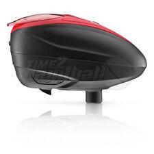 NEW Dye LTR Paintball Loader - Black / Red Hopper LT-R Spire TFX Halo