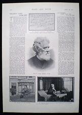 PHILIP JAMES BAILEY ROPEWALK ROPE WALK HOUSE NOTTINGHAM 1pp PHOTO ARTICLE 1901