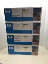 Lot of 12 HP toners C4191A, C4192A, C4193A, C4194A Brand new factory sealed
