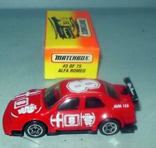 MATCHBOX ALFA ROMEO MB3 & PROBE GT MB44 MADE IN CHINA 1996 DIECAST CARS