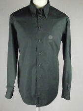 Versace Cotton Regular Single Cuff Formal Shirts for Men