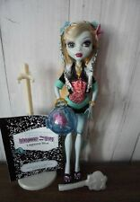 Monster High Lagoona Blue 1 Wave Unique, All Accessories Flower!