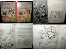 Alice Through the Looking Glass - Lewis Carroll,  Younger Readers, HB, C1950'S