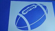 Schablonen 478 Football Mylarfolie Shabby Wandtattoos Wandbild Stencil Airbrush