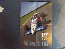 "Cartel De 22"" X 16"" - F3000-Cavendish Lola-Julian Bailey"