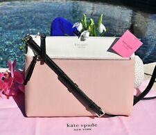 🌸 NWT Kate Spade Polly Medium Crossbody Pebble Leather Colorblock Bag NEW $178