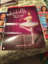 AMERICAN GIRL MAGAZINE LOT 2013-2015 total of 7 Plus Isabelle Girl Poster 2014
