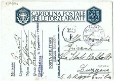 71202-Italy-Duty Military Navy R. SHIP Perseus 1940-Destroyer