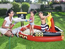 H2Ogo! Inflatable Pirate Play Pool Center Swimming Float Kids Raft