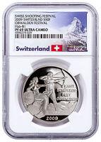 2009 Switzerland Shooting Festival Thaler Obwalden Silver 50F NGC PF69 SKU48963