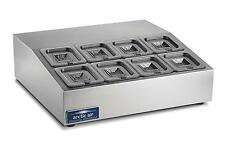 "Arctic Air 27.5"" Refrigerated Compact 8 Pan Counter-Top Prep Unit - ACP8SQ"