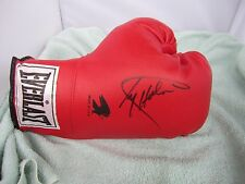Larry Holmes Signed Red Everlast Right Hand Boxing Glove JSA R88746