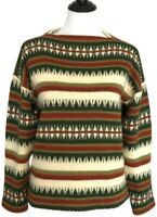 Vintage Jersey Modeller Icelandic Scandinavian Wool Sweater Hans Heitsch 42
