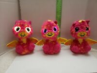 Spin Master Hatchimals Hatch Pink & Yellow Interactive Toy Twin Giraven Lot of 3
