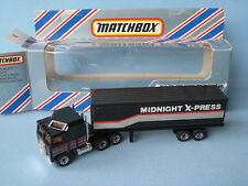Lesney Matchbox Convoy Kenworth CABOVER Box Truck Midnight X Press RARE