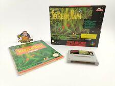 "Super Nintendo Spiel "" Secret of Mana SoM "" Snes | Ovp | Pal | Big Box"