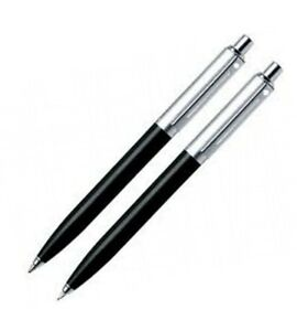 Sheaffer Sentinel Black Resin Barrel with C/T Ballpoint and 0.7mm Pencil Set Box