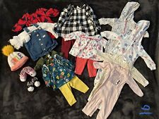 6-9 Month Girl's Winter Clothing Lot / 17 pcs/ Gap, Carter's, Others