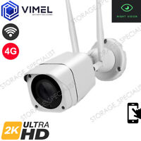 4G ULTRA HD 2K Security Construction Sight Camera  WIFI Outdoor Surveillance